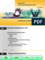 DM-Intro 16.0 L06A Geometry Modeling for CFD