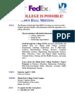 Hispanic Scholarship Fund College EXPO