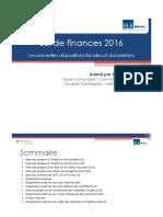 Loi de Finances 2016 - VF