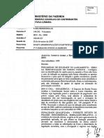 CARF - Planejamento Tributário. IRPJ e CSLL
