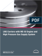 Lng Carriers With High Pressure Gas Supply System