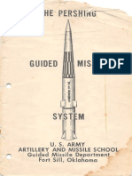 The Pershing Guided Missile System