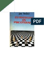 Estrategias en psicoterapia. Jay Haley