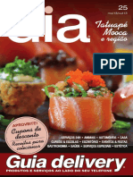 Revista Guia de Delivery