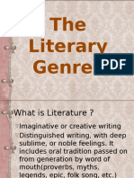 The Literary Genres