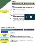Lecture 1 - Phase Equilibrium
