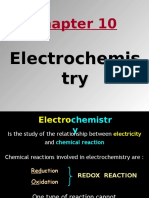 Lecture 3 - Electrochemistry