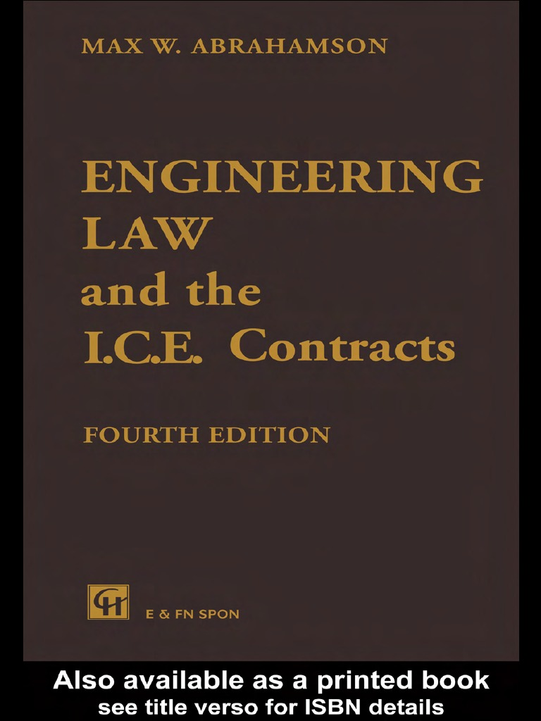 Mw abrahamson engineering law and the ice contracts mw abrahamson engineering law and the ice contracts consideration precedent fandeluxe Image collections