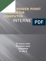 Tugas Power Point Pengantar Komputer INTERNET