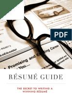 Resume Book