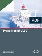 Propulsion of Vlcc