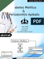Diabetes Mellitus Dan Periodontitis Apikalis