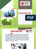 Organizacion -Diapositiva de Fundamentos de Gestion de Emprendimiento