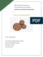 Module 3 Soil Mechanics Assignment CLash (Final)