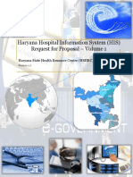 Haryana Hospital Information Sysyem Request For Proposals Volume 1 Final