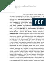 Sentencia Delitos Lesa Humanidad en Rosario