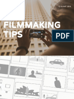 Filmmaking Tips - How to shoot great videos with your Smartphone or Digital Camera. (preview)
