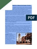 Sucre y Táchira. Parimonio Histórico y Cultural.