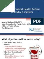 4-6-2010 KUMC Health Reform