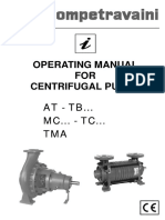 Manual  Centrifugal pump