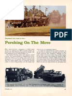 Pershing on the Move