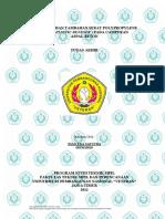 ANALISA BAHAN TAMBAHAN SERAT POLYPROPYLENE ( FIBER PLASTIC BENESER ) PADA CAMPURAN ASPAL BETON