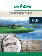 Pump Efficiency Catalog