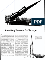 Pershing Rockets for Europe