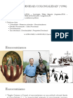 Interculturalidad y (de)colonialidad
