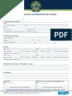 Formularios Passagens 2014 Colaborador Preenchimento