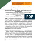 Estudo de processos para a redução no consumo dos recursos físicos empregados para incremento da aderência em revestimentos internos de argamassa