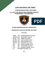 Historia de La Pnp