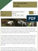 The Dog Rambler e-diary 15 April 2010