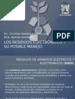 Los Residuos Electrónicos y Su Posible Manejo.