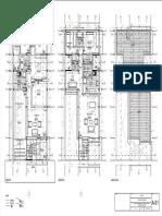 Vivienda - Plano - A-01 - Plantas Primer Piso, Segundo Piso y Planta de Techo