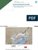 Melhorcomsaude Com Beneficios Bicarbonato Sodio