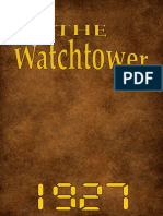 The Watch Tower - 1927 issues