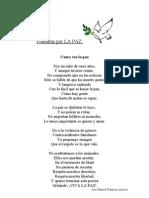 Poemitas Por LA PAZ