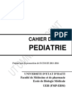 Cours de Pediatrie - Dr Ulrick Severe