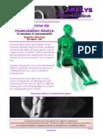 programme musculation akelys