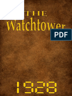 The Watch Tower - 1928 issues
