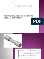 Analysis of Master Stud