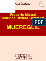 Frederic MISTRAL, Maurice RIVIÈRE-BERTRAND. Muereglie