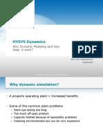 HYSYS Dynamics, Software