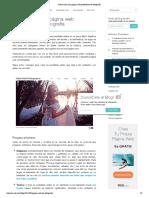 Cómo crear una página web profesional de fotografía