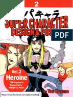 Super Character Design Amp Amp Poses Vol 2 Heroi