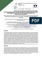 Análise microestrutural de pastas de cimento Portland branco modificado por um polímero de base acrílica como ferramenta para estudo do comportamento de resistência mecânica