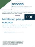 Meditación Hoy - Meditacion Hoy