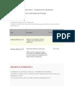 Listado de Las NOMS de La Secretaria de Energia