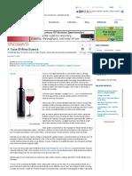 A Taste of Wine Science ...Ical & Engineering News